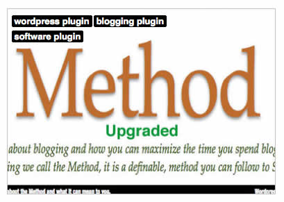 The method blogging will never be the same again